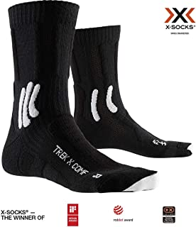 Trek X Comfort Socks, Unisex Adulto, Opal Black/Arctic White