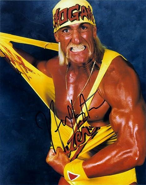 Amazon.com : Hulk Hogan 8 X 10 Photo Autograph on Glossy Photo ...