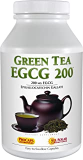 Andrew Lessman Green Tea EGCG 200 - 180 Capsules – 200 mg EGCG, Powerful Anti-oxidant Support for Healthy Liver Function, ...