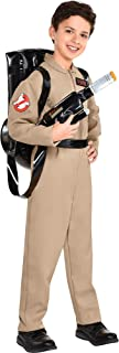 Party City Ghostbusters Costume with Proton Pack for Children, Includes Jumpsuit with Zippers and Backpack