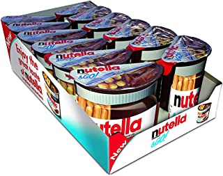 Nutella & Go Hazelnut Spread & Pretzels Sticks Pack of 12, x 48 g