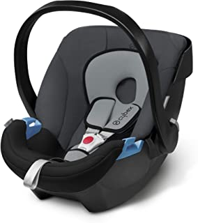 cybex ISOFIX・シートベルト固定両対応 ベビーシート 新生児用 トラベルシステム Aton エイトン コブルストーングレー 0か月~ (3年保証)