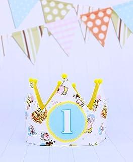 SpongeBob corona di compleanno compleanno, compleanno bambino numero 1,2,3,4,5. Smash Cake bambino