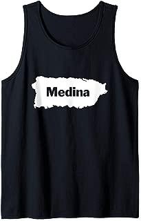 Medina Last Name, Camisas de Puerto Rico Tank Top