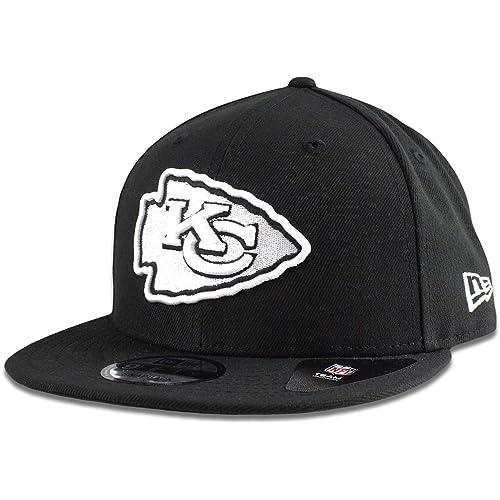 1836f9bfcc7 New Era Black White Logo Snapback Cap 9fifty