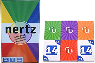 Peak Fun Nertz - A Speed Card Game - 6 Decks