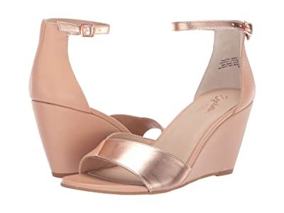 Seychelles Dual Purpose (Nude/Rose Gold Leather) Women