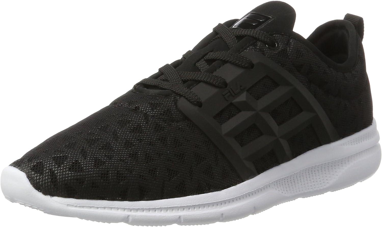 Fila Powerbolt 2 Low Running Men Sneakers Black Comfort Foam