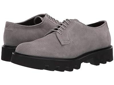 Emporio Armani Suede Chunky Sole Oxford (Cement) Men