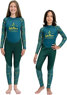 InstaMarine Neoprene Wet Suits for Boys and Girls - Kids Wetsuit for Swimming, Scuba Diving, Surfing – Comfortable and Eas...