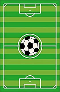 Furnish my Place soccer field Ground Kids Rug