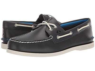 Sperry A/O 2-Eye Plush (Navy) Men