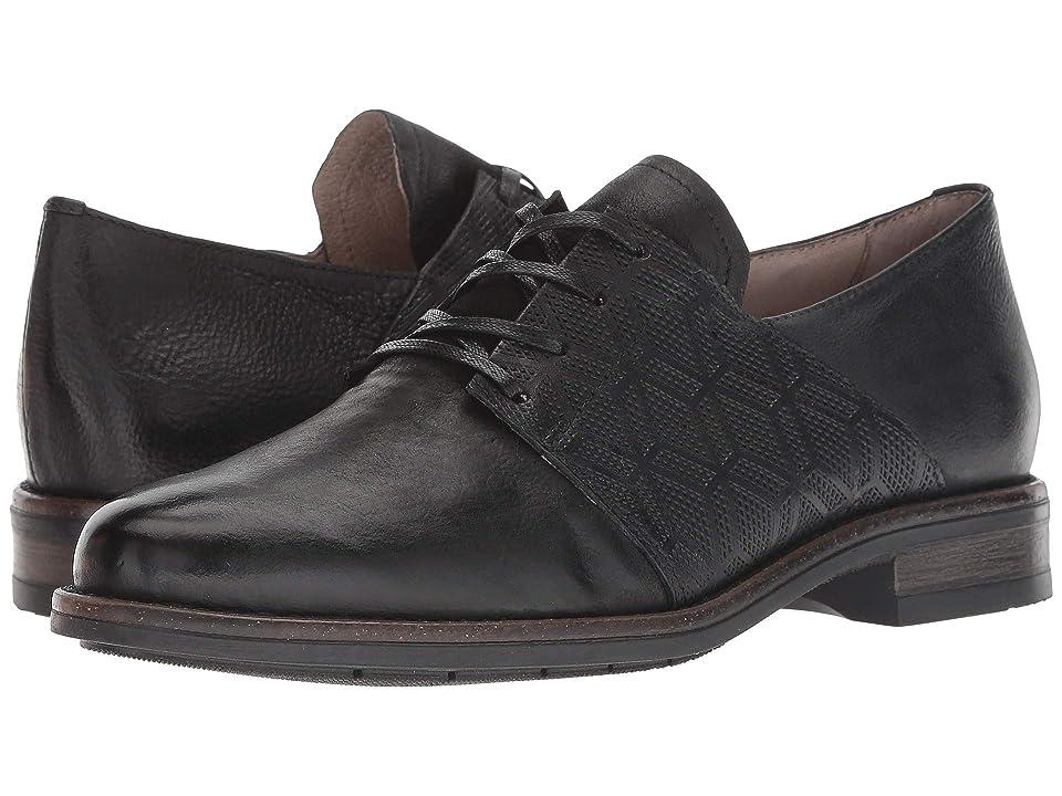 1930s Style Shoes – Art Deco Shoes Miz Mooz Trudy Black Womens Shoes $159.90 AT vintagedancer.com