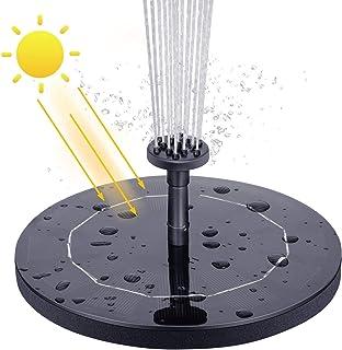 VITCOCO Bomba de Fuente Solar, 2.1 W Bomba de Agua Solar Fuente Flotante de energía