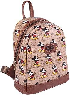 Mosue, Mochila Mickey Mouse Casual - Licencia Oficial Disney para Hombre, Multicolor, Mediano