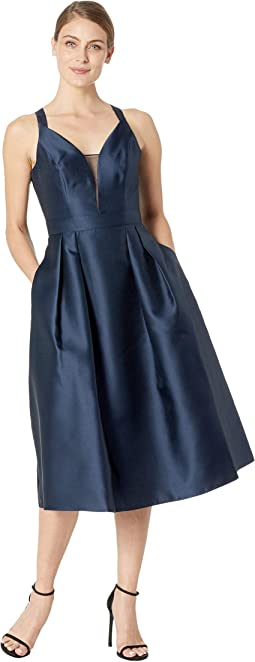 Mikado Tie Back Dress