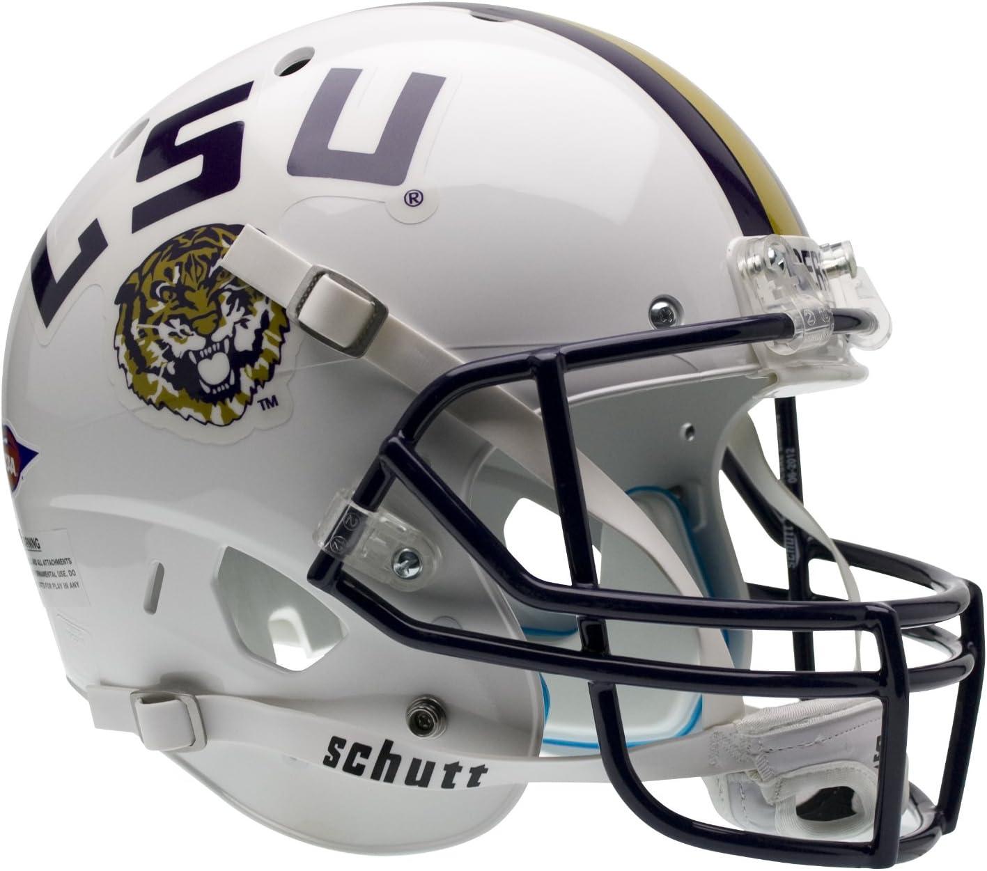 Schutt NCAA Our Detroit Mall shop OFFers the best service LSU Tigers Replica Helmet Collectible