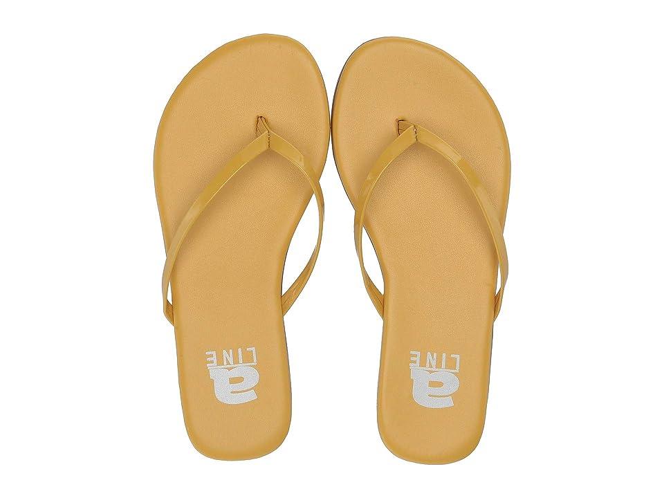 Amiana 12-885 (Toddler/Little Kid/Big Kid/Adult) (Yellow PU) Girls Shoes