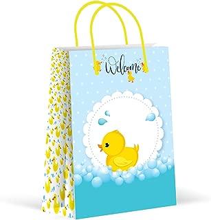 Creative Converting 087058 W//RIBBON Favor Bag 4 x 3.5 x 1.5 Multicolored