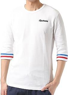 Real.B.Voice リアルビーボイス メンズ 七分袖 Tシャツ 10011-10002
