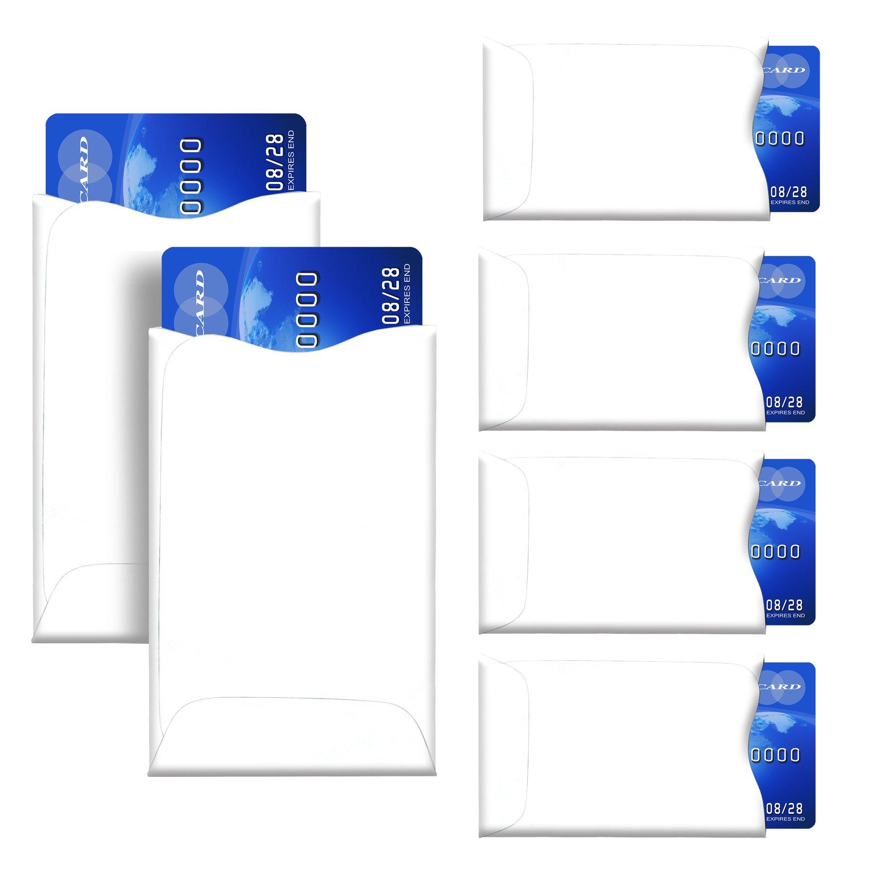 Amazon.com: RFID Blocking Sleeves, Pack of 7 (Credit Card Holders