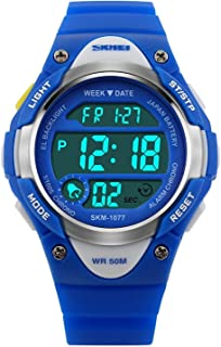 Kids Sport Digital Watch Waterproof for Boys Girls with Alarm Stopwatch Timer LED Electronic Wrist Watch