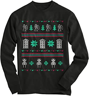 Gnarly Tees Men's Doctor Who Ugly Christmas Sweater