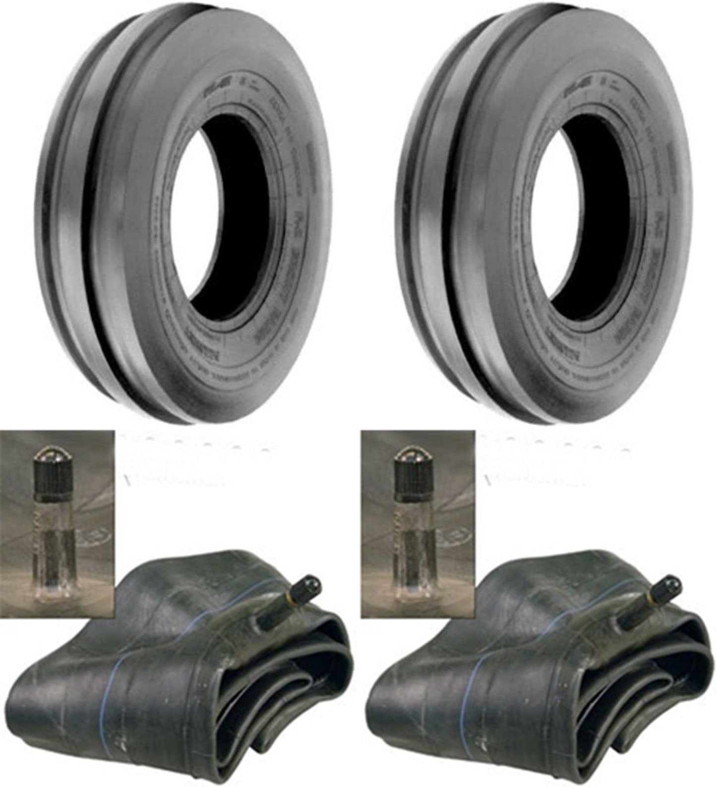 Two 7.50-16 R1 Tractor Tires