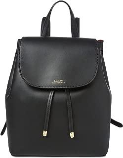 leather ralph lauren backpack