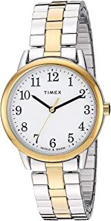 Timex Women's Quartz Watch, Analog Display and Stainless Steel Strap TW2R58800