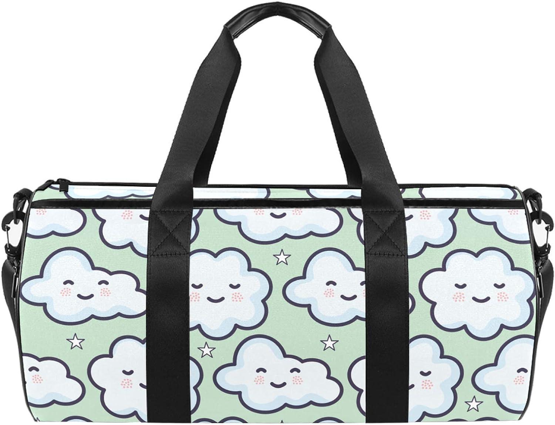 Dragon Sword Kawaii Clouds Designed Duffel Travel Manufacturer OFFicial shop Bag Lu Fashion Sales for sale