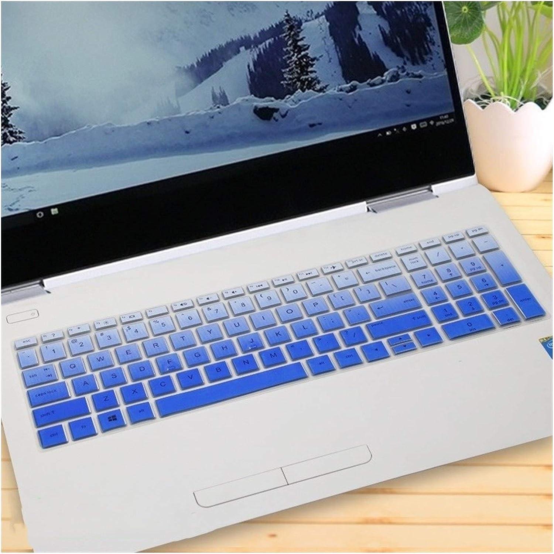Cubierta del teclado 15 15,6 pulgadas port/átil port/átil teclado cubierta protectora de la piel for HP ENVY X360 15-bd001TX PAVILION 15-CB073TX CB075TX Para protecci/ón de la cubierta del teclado