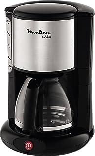MOULINEX Cafetières filtre SUBITO inox 10/15 Tasses Machine à café cafetière électriqueCafetière Capacité 1.25L Antigou...
