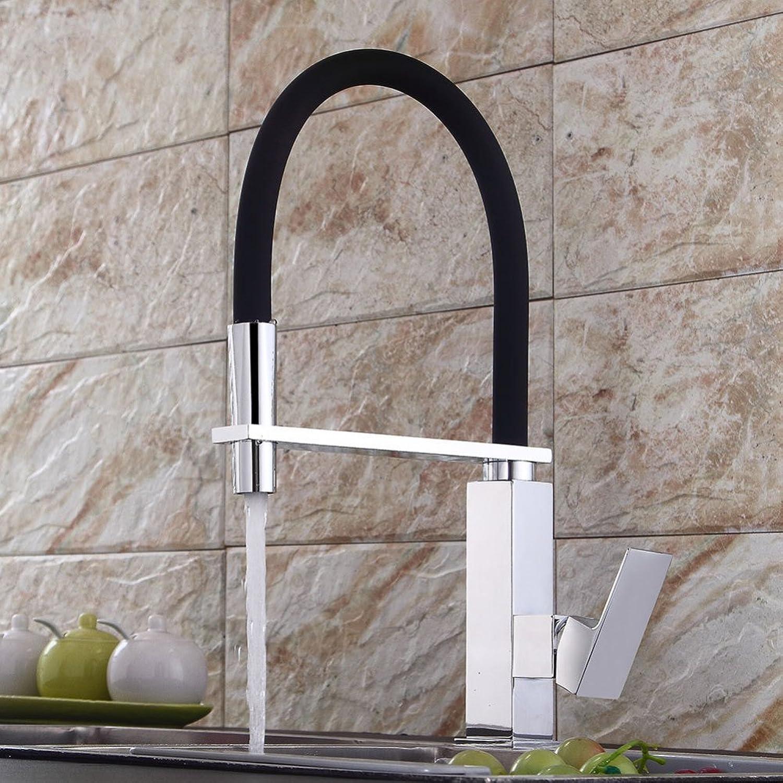 TT Faucet European Kitchen Faucet Plating Sink Faucet Spring Sink Hot and Cold Faucet Vintage Faucet