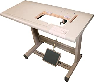 AXIS Vintage Chain Stitch Embroidery Machine Table Stand for Freehand Chainstitch Embroidery Machine Singer 114w103 Cornley Treasure Golden Wheel Unassembled DIY