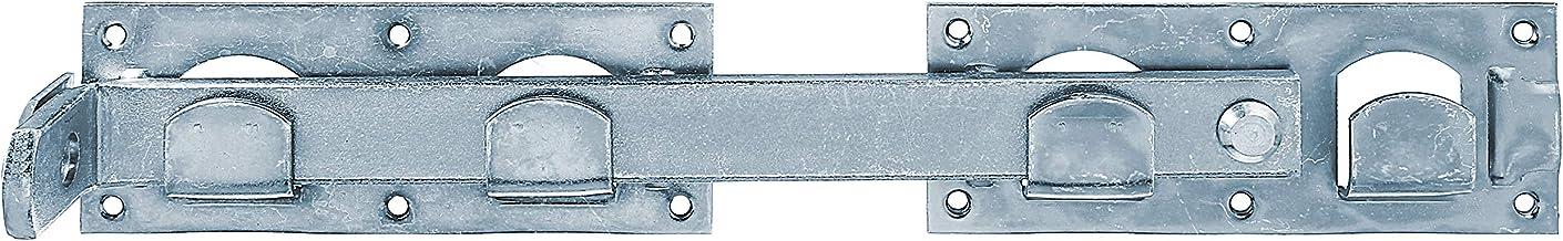 GAH-Alberts 210571 slaggrendel voor dubbele poort   in de uitvoeringen glad of gehamerd   elektrolytisch blauw verzinkt   ...