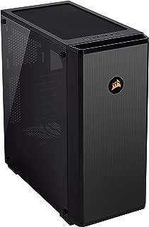 Corsair Carbide Series 175R RGB Tempered Glass Mid-Tower ATX Gaming Case, Black