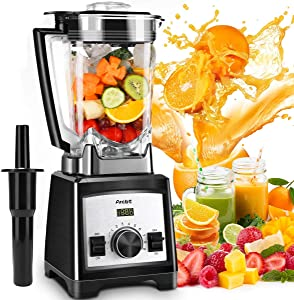 Arcbt Professional 72oz Countertop Blender for Smoothies & Shakes, Crushing ice, 33000RPM Smoothie Maker with 9-Speed Control, Pulse Feature, 1450W Commercial Blender with Timer, BPA-Free Tritan Jar