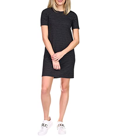 MICHAEL Michael Kors Short Sleeve Crew Texture Dress Women