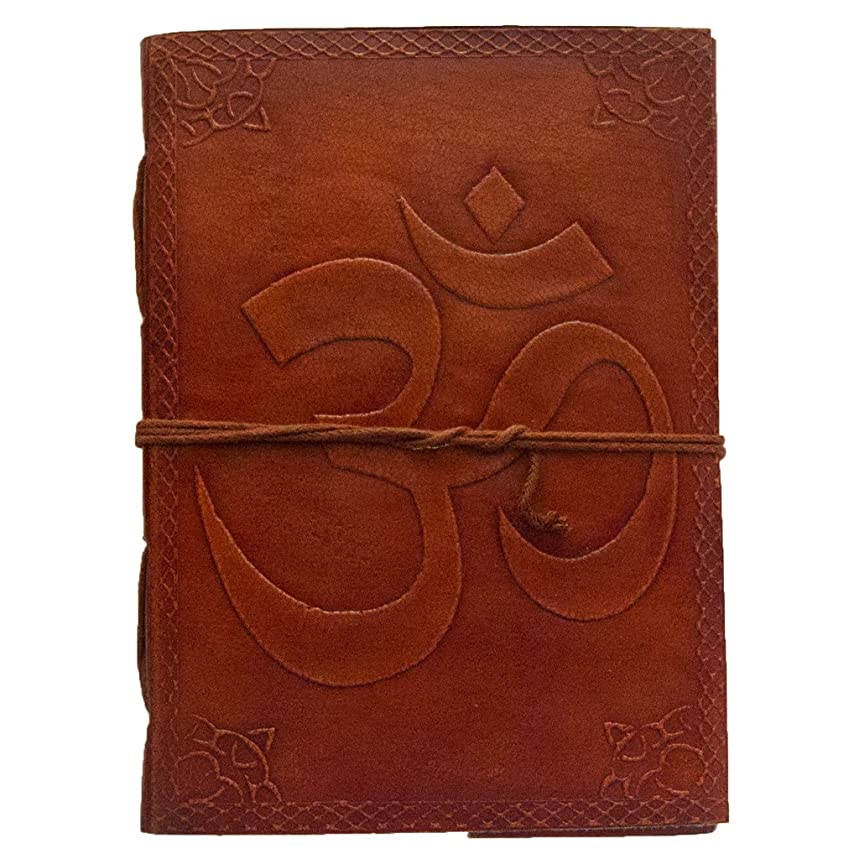 Eye of Horus Journal - Leather Journal for Men and Women - 200 Page Notebook and Travel Journal - SongWriting Journal and Artist Sketchbook- 5x7 Inch Pages