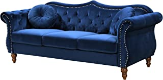 Container Furniture Direct Anna1 Sofa, Blue