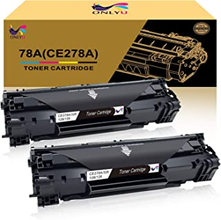 ONLYU Compatible Toner Cartridge Replacement for HP 78A CE278A Work for HP Laserjet P1606dn 1606dn HP Laserjet M1536dnf 1536dnf MFP HP Laserjet P1566 P1560-2 Pack