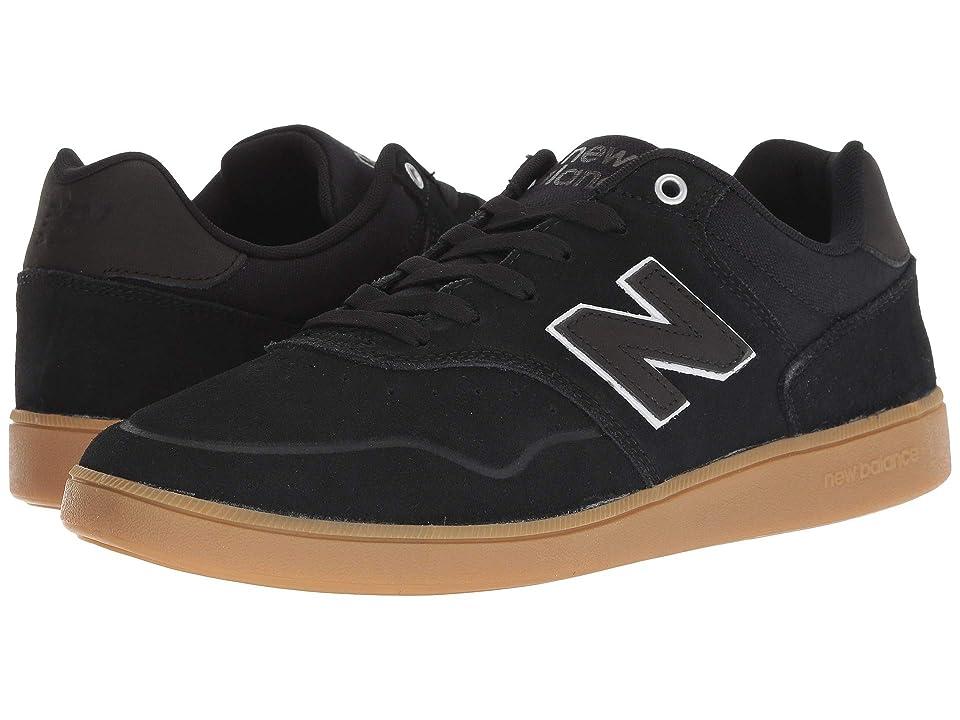 New Balance Numeric NM288 (Black/Gum 1) Men's Skate Shoes