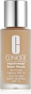 Repairwear Laser Focus All Smooth MakeupSPF15 Shade#08(MF/M-N)-Very Dry/Dry Comb by Clinique for Women - 1 oz Foundation