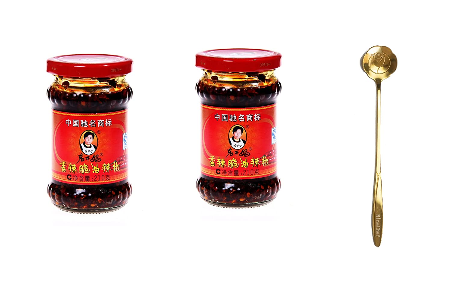 Lao Gan It is very popular Ma Spicy Chili Max 74% OFF Crisp Chinese Sauce w Oil Hot