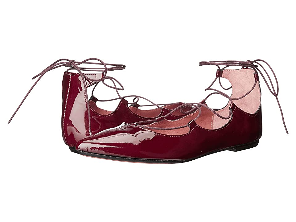 Summit by White Mountain Karena (Burgundy Patent Leather) Women