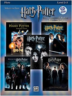 Alfred Harry Potter,[TM] Instrumental Solos (Movies 1-5) [Flute] (Book and CD)
