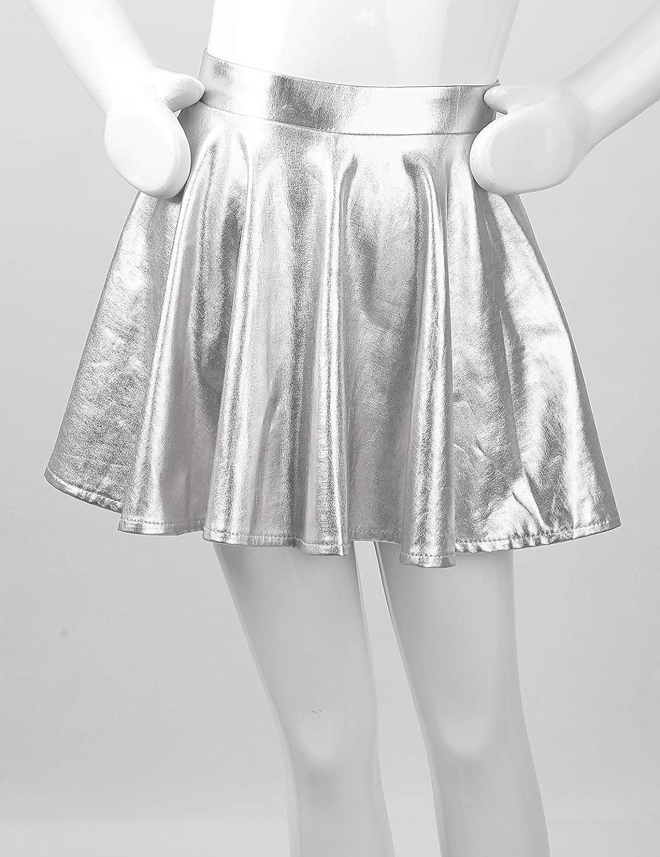 Jupe Pliss/ée Costume Pom Pom Girl Brillant Tenue Danceuse 7-14 Ans Kaerm Robe Danse Fille Ensemble Haut