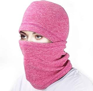 Ski Face Mask Balaclava Fleece Hood for Men Women,Winter Neck Warmer Windproof Cap for Snowboarding Running Cycling