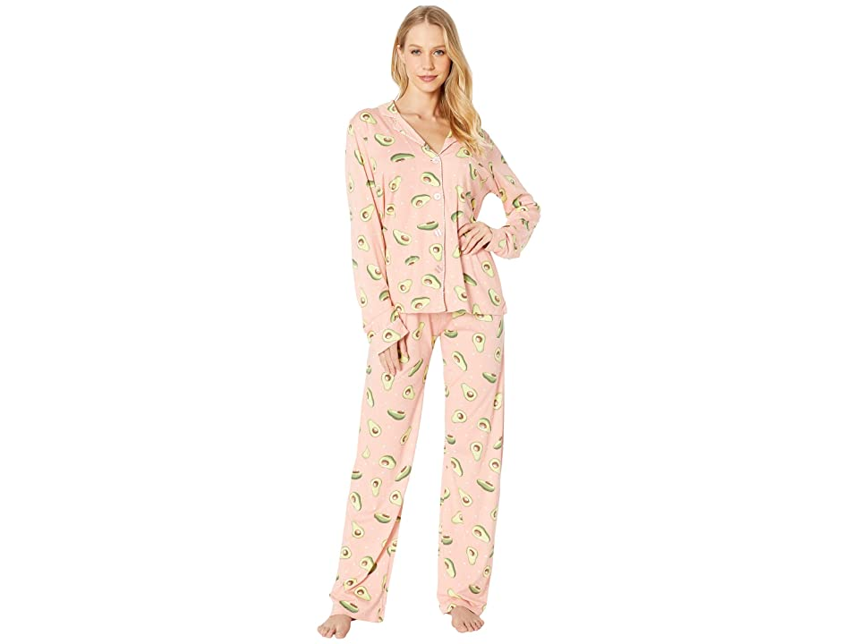 P.J. Salvage Playful PJ Set (Coral) Women